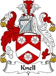 Knell Family Crest