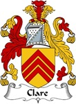 Clare Family Crest