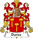 Duriez Family Crest