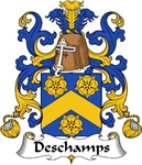 Deschamps Family Crest