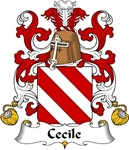 Cecile Family Crest