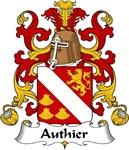 Authier Family Crest