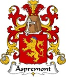 Aspremont Family Crest
