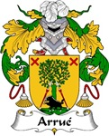 Arrue Family Crest