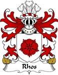 Rhos Family Crest