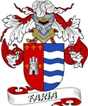 Faria Family Crest / Faria Coat of Arms