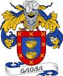 Gaona Family Crest / Gaona Coat of Arms