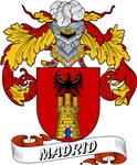 Madrid Family Crest / Madrid Coat of Arms