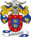 Navarro Family Crest / Navarro Coat of Arms