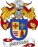 Quintana Family Crest / Quintana Coat of Arms