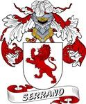 Serrano Family Crest / Serrano Coat of Arms