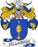 Villanova Family Crest / Villanova Coat of Arms