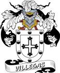 Villegas Family Crest / Villegas Coat of Arms