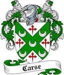 Carse Family Crest, Coat of Arms