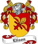 Elison Family Crest, Coat of Arms