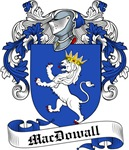 MacDowall Family Crest, Coat of Arms