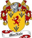 MacNair Family Crest, Coat of Arms