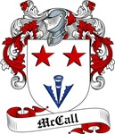 McCall Family Crest, Coat of Arms