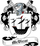 McVicar Family Crest, Coat of Arms