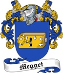 Megget Family Crest, Coat of Arms