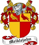 Meiklejohn Family Crest, Coat of Arms