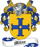 Milne Family Crest, Coat of Arms
