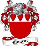 Moncur Family Crest, Coat of Arms