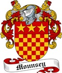 Mounsey Family Crest, Coat of Arms