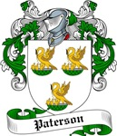 Paterson Family Crest, Coat of Arms
