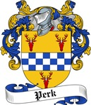 Perk Family Crest, Coat of Arms