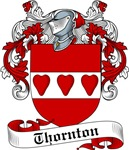 Thornton Family Crest, Coat of Arms