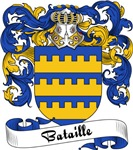 Bataille Family Crest, Coat of Arms