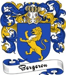 Bergeron Family Crest, Coat of Arms