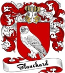 Blanchard Family Crest, Coat of Arms