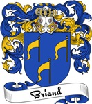 Briand Family Crest, Coat of Arms