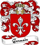 Germain Family Crest, Coat of Arms