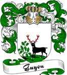 Guyon Family Crest, Coat of Arms