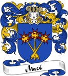 Macé Family Crest, Coat of Arms