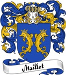 Maillot Family Crest, Coat of Arms