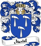 Martel Family Crest, Coat of Arms
