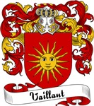Vaillant Family Crest, Coat of Arms