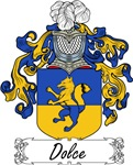 Dolce Family Crest, Coat of Arms