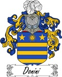 Donini Family Crest, Coat of Arms