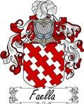 Faella Family Crest, Coat of Arms