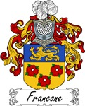 Francone Family Crest, Coat of Arms