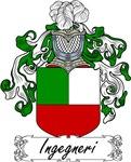 Ingegneri Family Crest, Coat of Arms