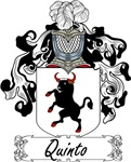 Quinto Family Crest, Coat of Arms