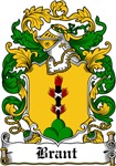 Brant Family Crest, Coat of Arms