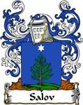 Salov Family Crest, Coat of Arms