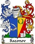 Sazonov Family Crest, Coat of Arms